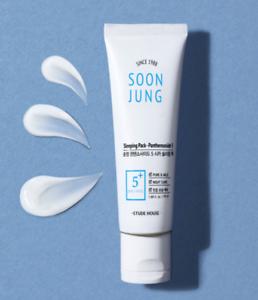 Etude House Soon Jung Sleeping Pack - Panthensoside 5 Ночная маска для чувствительной кожи, 50 мл