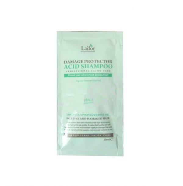 La'dor Damage protector acid shampoo Бесщелочной шампунь с аргановым маслом