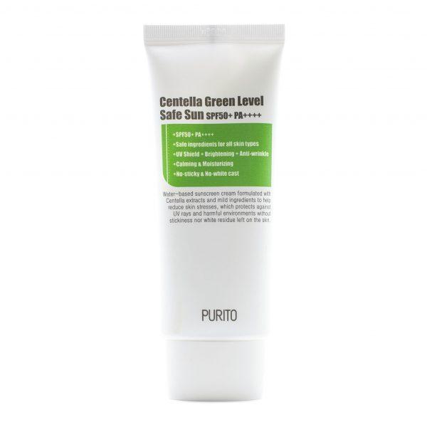 Purito Centella Green Level Safe Sun Cream SPF50 Солнцезащитный крем с центеллой, 60 мл