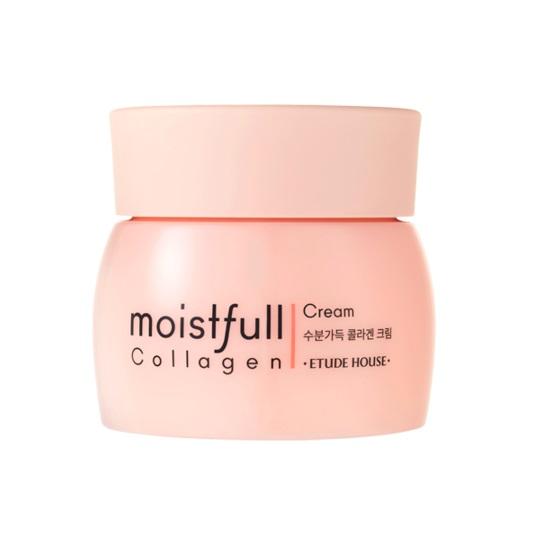 Etude House Moistfull Collagen Cream Увлажняющий крем с коллагеном, 75 мл